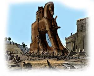 trojanska hästen film