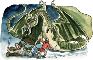 sagan om draken