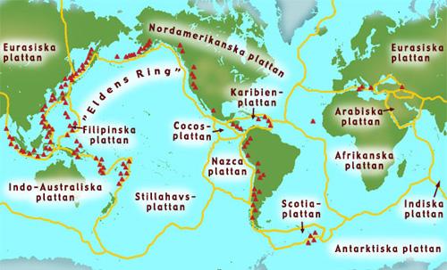 karta över vulkaner Vulkaner   Unga Fakta karta över vulkaner